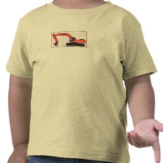 Löffelbagger durch Baby ruinierende Co. T Shirts