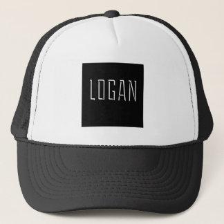 Logan-Quadrat Truckerkappe