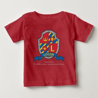 Loganadelt Namensbedeutungs-Wappen Schild Baby T-shirt