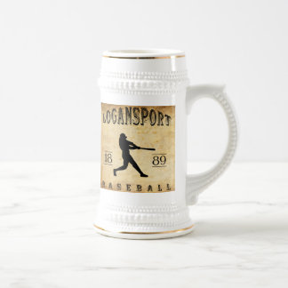 Logansport Indiana Baseball 1889 Bierglas