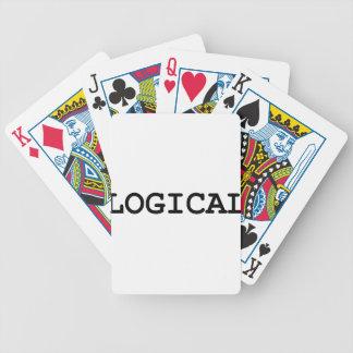 logisch bicycle spielkarten