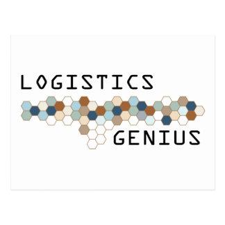 Logistik-Genie Postkarte