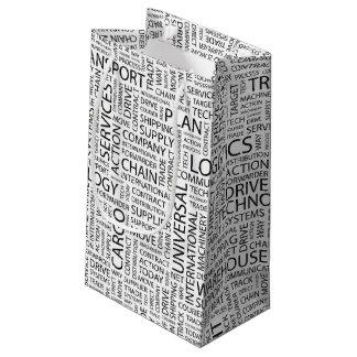 LOGISTIK kopieren mit Wörtern Kleine Geschenktüte