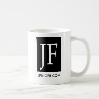 Logo2, JFINGER.COM Coffe Schale Tasse