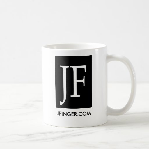 Logo2, JFINGER.COM Coffe Schale Kaffee Tasse