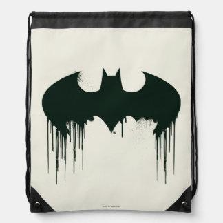 Logo Batman-Symbol-| Spraypaint Sportbeutel