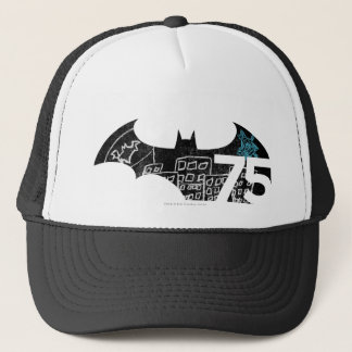 Logo Batmans 75 - Tafel Truckerkappe