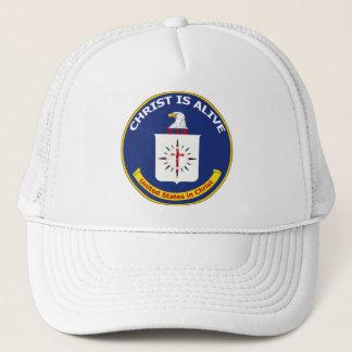 "Logo CIA ""Christus ist lebendig "" Truckerkappe"