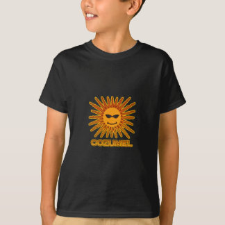 Logo Cozumel Mexiko Sun T-Shirt