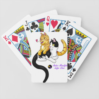 Logo der Kitty-Liebe w Bicycle Spielkarten