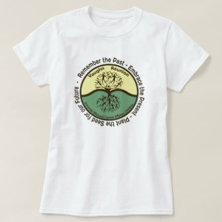 Logo der Vaughn Familien-Wiedervereinigungs-Frau T-Shirt