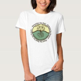Logo der Vaughn Familien-Wiedervereinigungs-Frau Shirt