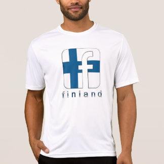 Logo-einzigartiges Geschenk Finnlands Suomi T-Shirt