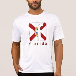 Logo-einzigartiges Geschenk-neuer Entwurf Floridas T-Shirt