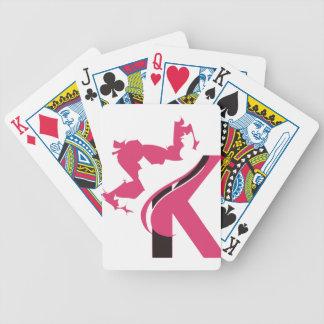 Logo-Entwurf BMI der Kronen-K Bicycle Spielkarten