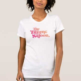 Logo-grundlegendes T-Stück (weiß) T-Shirt