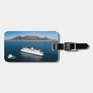 Logo-Hoffnung in Cape Town-Gepäckanhänger Gepäckanhänger