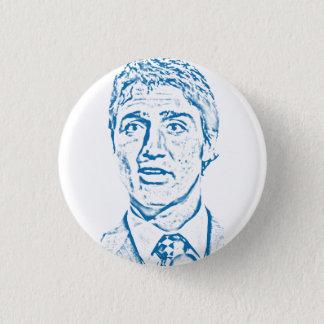 Logo Justin Trudeau Runder Button 3,2 Cm