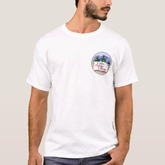 Logo: kleine Front, große Rückseite T-Shirt