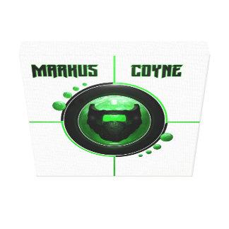 Logo-Leinwand Markus Coyne Leinwanddruck