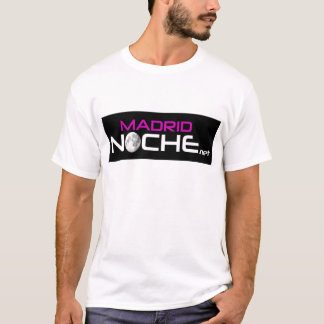 Logo Madrid Nacht T-Shirt