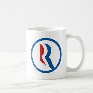"""Logo Mitt Romneys """"R"""" Kaffeetasse"""