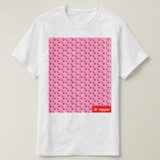 Logo-Muster vaporwave T-Shirt