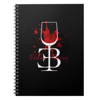 Logo-Notizblock Elaine Barris Spiralblock