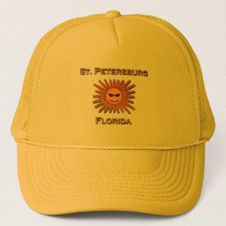 Logo St. Petersburg-Floridas Sun Truckerkappe