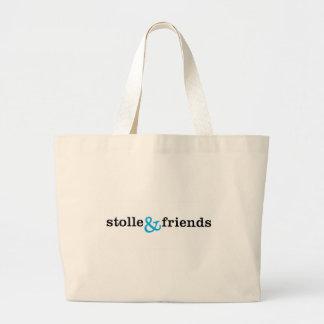 Logo stolle&friends leinentasche