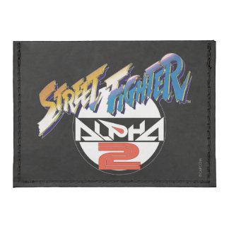 Logo Street Fighter-Alpha-2 Tyvek® Kreditkartenhalter