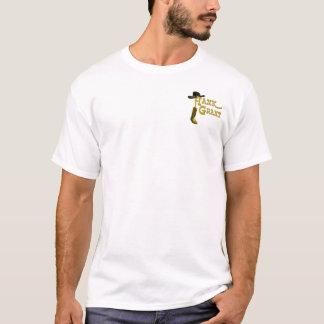 Logo-T - Shirt-weiße/kurze Hülse Hank Grant T-Shirt