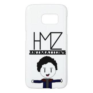 Logo-und Avatara-Fall - Weiß - Samsung-Galaxie S7