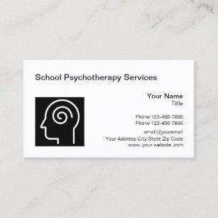 Psychotherapeut Visitenkarten Zazzle De