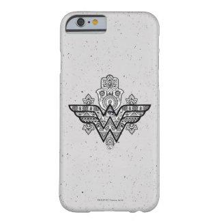 Logo Wunder-Frauen-geistiges Paisleys Hamsa Barely There iPhone 6 Hülle