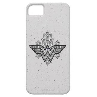 Logo Wunder-Frauen-geistiges Paisleys Hamsa iPhone 5 Etui