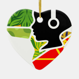 logoo keramik Herz-Ornament