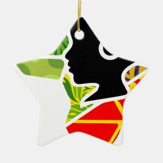 logoo keramik Stern-Ornament