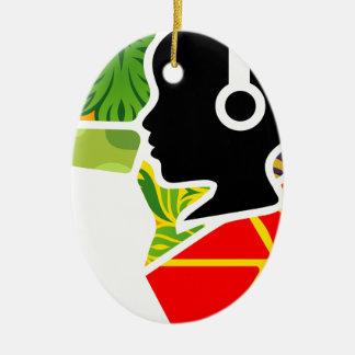 logoo ovales keramik ornament