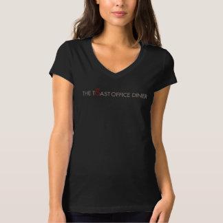 Logot-stück der klassischen Frauen T-Shirt