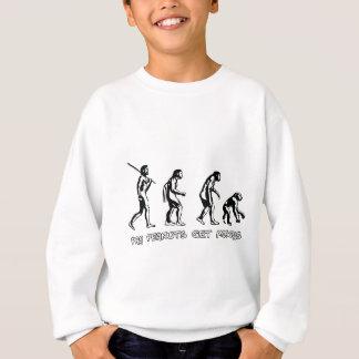 Lohn-Erdnüsse erhalten Affen Sweatshirt
