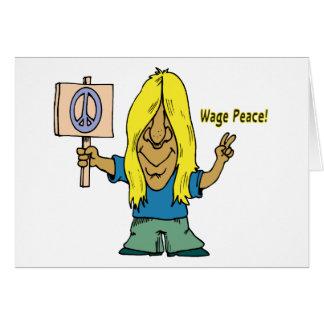 Lohn-Frieden! Nicht Krieg! Karte