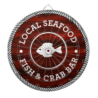 Lokale Dartscheibe der Meeresfrüchte-1