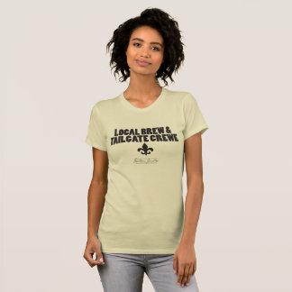 Lokaler Brew u. Heckklappe Crewe- T - Shirt