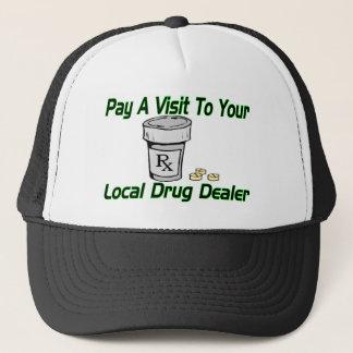 Lokaler Drogenhändler Truckerkappe