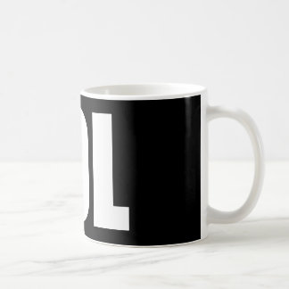 LOL (dunkel) Kaffeetasse