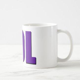 LOL lila Kaffeetasse