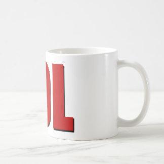 LOL Rot Kaffeetasse
