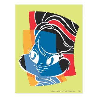 Lola Häschen ausdrucksvolle 4 Postkarten
