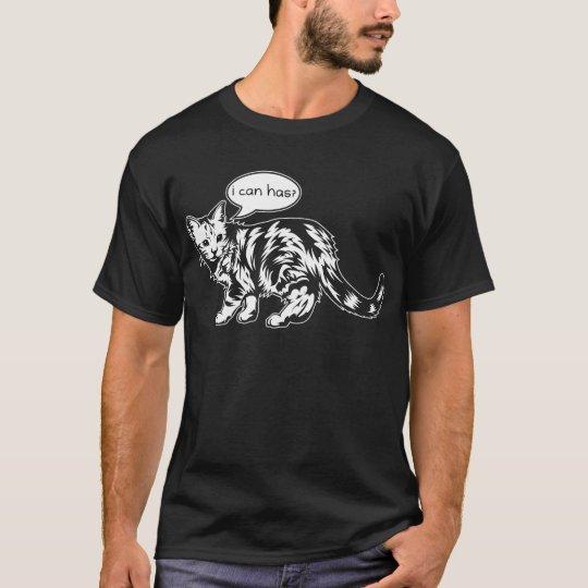 lolcat - ich kann habe? T-Shirt